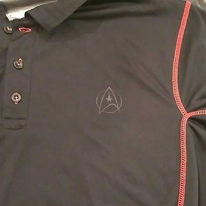 Star Trek Shirts - Collectable Star Trek 50th Anniversary polo.